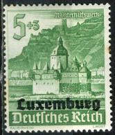 LUXEMBOURG 35*  5p + 3p Vert-jaune - Occupation