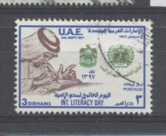 UAE 1977, Book, International-Literacy-Year, Minr 94, Vfu. Cv 6 Euro - United Arab Emirates