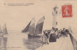 17 -- Charente Maritime -- Ile D'Oléron -- La Cotinière -- Les Régates - Arrivée Du Gagnant -- Le Phare - Parapluies - Ile D'Oléron