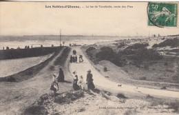 Thématiques 85 Vendée Les Sables D'Olonne Le Lac De Tanchette Route Des Pins Ecrite Timbrée Cachet Datée Main 12 08 1912 - Sables D'Olonne
