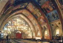 Alban - L'église Fresque De Nicolas Greschny - Alban