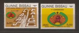 GUINEA - BISSAU 1983  JAAC Congress - Guinée-Bissau