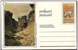 Sud Africa Occidentale (SWA): Intero, Stationery, Entier, Deserto, Désert, Orice Gazzella, Oryx Gazelle - Géologie