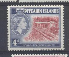 Pitcairn Islands 1958, Minr 31 (schoolteacher´s House) Mlh. Cv 7,50 Euro - Stamps
