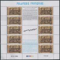 POLYNESIE - YT N° 347A à 349A En Feuille Coin Daté - Neuf ** - MNH - Cote: 80,00 € - Polynésie Française