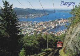Noruega--Bergen--1992--Utsikt Fra Floien----a, Le Mans, Francia - Noruega