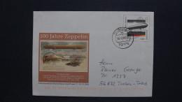 Deutschland USo 17 Oo 13.2.2001, Dornhan, 100 Jahre Zeppelin - [7] West-Duitsland
