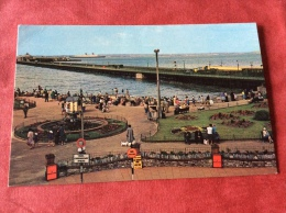 UK The Isle Of Wight. The Western Esplanade Gardens Ryde - England