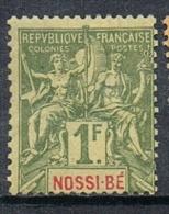 NOSSI-BE N°39 N* - Nossi-Bé (1889-1901)