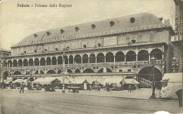 PADOVA  Palazzo Della Ragione Veduta Da Piazza Erbe Con Mercato - Padova