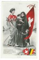 Suisse /Schweiz/Svizzera/Switzerland // Vaud // Guerre 1914-1918 , La Suisse Accueille Les Veuves Et Les Orphelins De Be