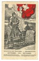 Suisse /Schweiz/Svizzera/Switzerland // Armée Suisse//  Guerre 1914-1918, Occupation Des Frontières