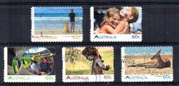 """Australia - 2011 - """"Living Australian"""" 1st Issue (Self Adhesive) - Used - Usati"""