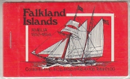 "Falkland Islands 1978 Ship ""Amelia"" Booklet ** Mnh (F5075) - Falklandeilanden"