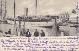 Belgique Oostende - Souvenir D'Ostende - Bâteaux Voilier Port Marins - Oostende