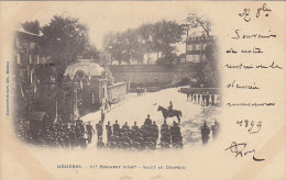 Mézières 08 - Militaria 91 Régiment Infanterie - Salut Au Drapeau - Cachet 1899 Charleville Neufchâteau Vosges - Charleville