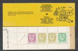 FINLANDE - 1978 - CARNET  YT C790 (I) - Facit HA13  N:o 1867 - Neuf ** MNH - Armoiries - Markenheftchen