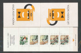 FINLANDE - 1992 - CARNET  YT C1135 - Facit HA22 - Neuf ** MNH - Oiseaux - Markenheftchen