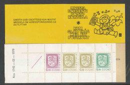 FINLANDE - 1978 - CARNET  YT C790 (I) - Facit HA13  N:o 1745 - Neuf ** MNH - Armoiries - Markenheftchen