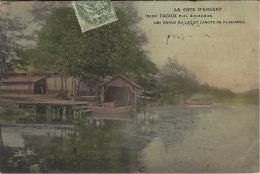 La Cote D´Argent - 5630- CAZAUX Près Arcachon - Les Bords Du Laxc Et Canots De Plaisance -ed. H. Guillier - Altri Comuni