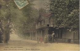 La Cote D´Argent - 5629- CAZAUX Près Arcachon - Grand Hôtel Du Lac -colorisé -ed. H. Guillier - Altri Comuni