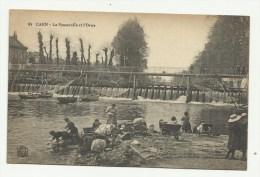 CAEN - La Passerelle Et L'Orne - Caen