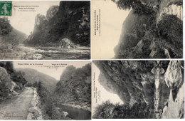 Beaux Sites De La Corrèze - 4 CPA - Roc De L' Aigle - Rocher De L' Aigle (2)- Goufre De La Renardière  (85140) - Non Classificati