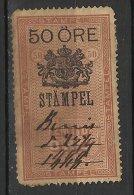 NORWAY NORVEGE Timbre Fiscal, Revenue Stamp - Steuermarken