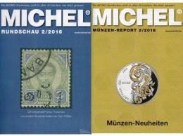 MICHEL Briefmarken Rundschau 2/2016 Neu 6€ New Stamps Of The World Catalogue/ Magacine Of Germany ISBN 978-3-95402-600-5 - Riviste: Abbonamenti