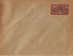 Entier Postal Moyen Congo 10c Panthère - Congo Français (1891-1960)