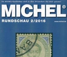 MICHEL Briefmarken Rundschau 2/2016 Neu 6€ New Stamps Of The World Catalogue/ Magacine Of Germany ISBN 978-3-95402-600-5 - Tarjetas Telefónicas