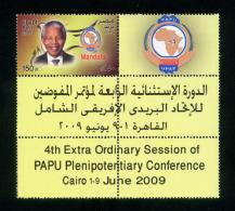 EGYPT / 2009 / SOUTH AFRICA / NELSON MANDELA / NOBEL PRIZE IN PEACE / MNH / VF - Egypt