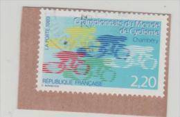 Frankreich079 / Fahrrad, Weltmeisterschaft 1989o - Oblitérés