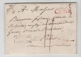 Bay374 /  BAYERN - Landau, Einzeiler In Rot Via Forbach Nach Paris 1830 - Duitsland