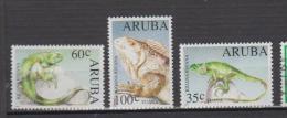 Aruba YV 128/0 N 1993 Iguane - Autres
