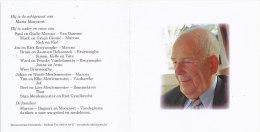 MICHEL MARCUS °Lichtervelde 1921 +Torhout 2011 Echtg. MARIA MOOYAERT - Religione & Esoterismo