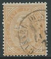 1863-65 REGNO USATO EFFIGIE 10 CENT - U25.9 - Usati