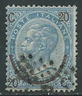 1865 REGNO USATO SOPRASTAMPATO EFFIGIE 20 SU 15 CENT III TIPO - U25.10 - 1861-78 Vittorio Emanuele II
