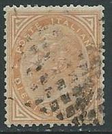 1863-65 REGNO USATO EFFIGIE 10 CENT - U25.10-2 - 1861-78 Vittorio Emanuele II