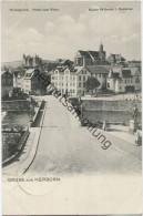 Herborn - Hickegrund - Hotel Zum Ritter - Verlag Louis Baumann Herborn - Feldpost Gel. 1916 - Herborn