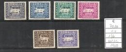 1950 SOMALIA  Segnatasse Serie Cpl Nuova ** MNH - Somalia