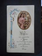 "IMAGE Pieuse COMMUNION ""Christiane SALANDRE - Sainte-Odile - 1957"" - Religion & Esotericism"