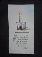 """IMAGE Pieuse COMMUNION Rhodoïd """"Franceline MARTEAUX - 1964"""" - Religion & Esotericism"""
