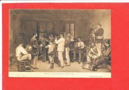 77 BOIS Le ROI Cpa La Fanfare Musique Par Bail Musée De Lyon       34 LL - Bois Le Roi