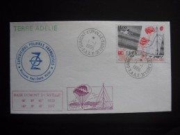 TAAF. 1986. I.A.G.O. FDC/ETB With Additional Cancellation, Expeditions Polaires,  Terre Adelie , See Scan (G1896 - FDC