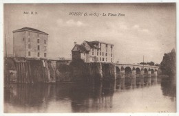 78 - POISSY - Le Vieux Pont - Poissy