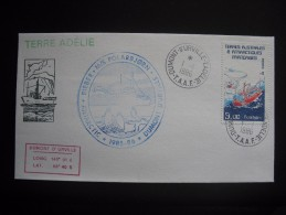 TAAF. 1986. Ship Polarbjorn  FDC/ETB With Additional Cancellation,  See Scan (G1859) - FDC
