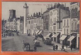 Carte Postale 17. La Rochelle  Le Phare Quai Vaslin   Trés  Beau Plan - La Rochelle