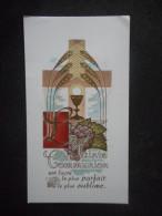 """IMAGE Pieuse COMMUNION """"Marie-lise QUESSOT - Saint-Pierre De NEUILLY - 1954"""" - Religion & Esotericism"""