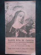 """LIVRET De PRIERES à """"SAINTE RITA DE CASCIA - La Sainte Des Cas Impossibles Et Désespérés"""" - Godsdienst & Esoterisme"""